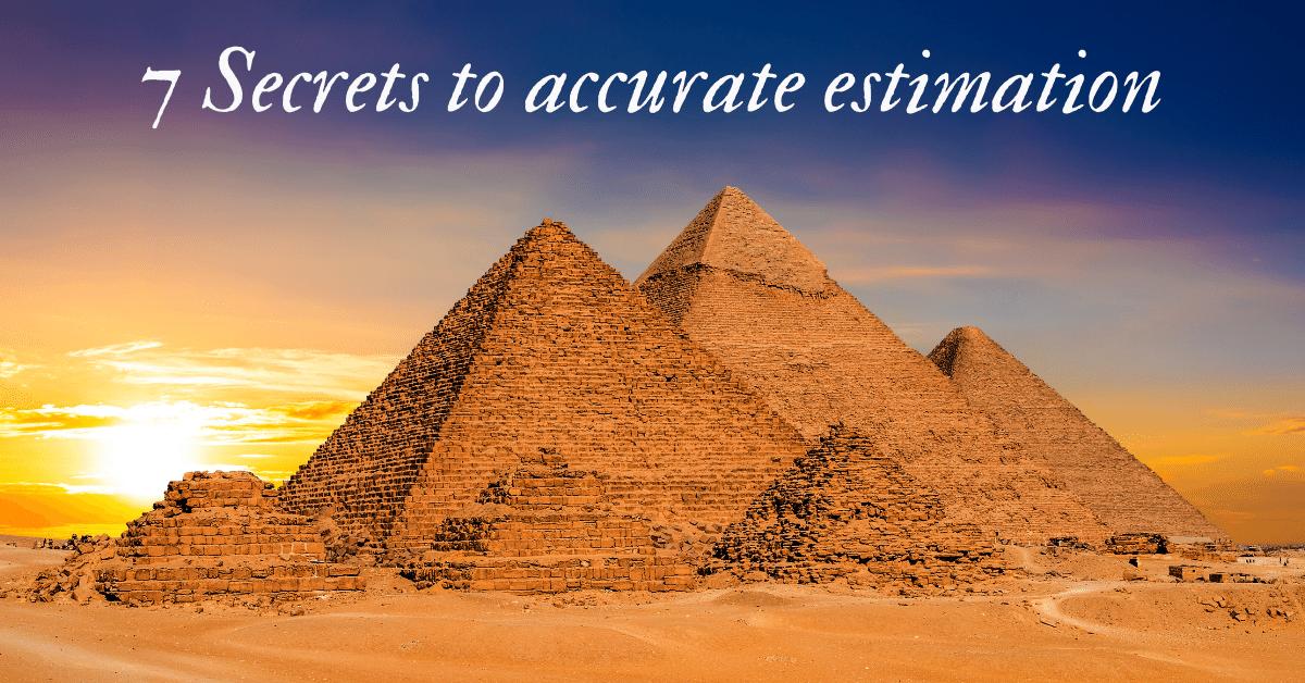 7 secrets to accurate estimation 1