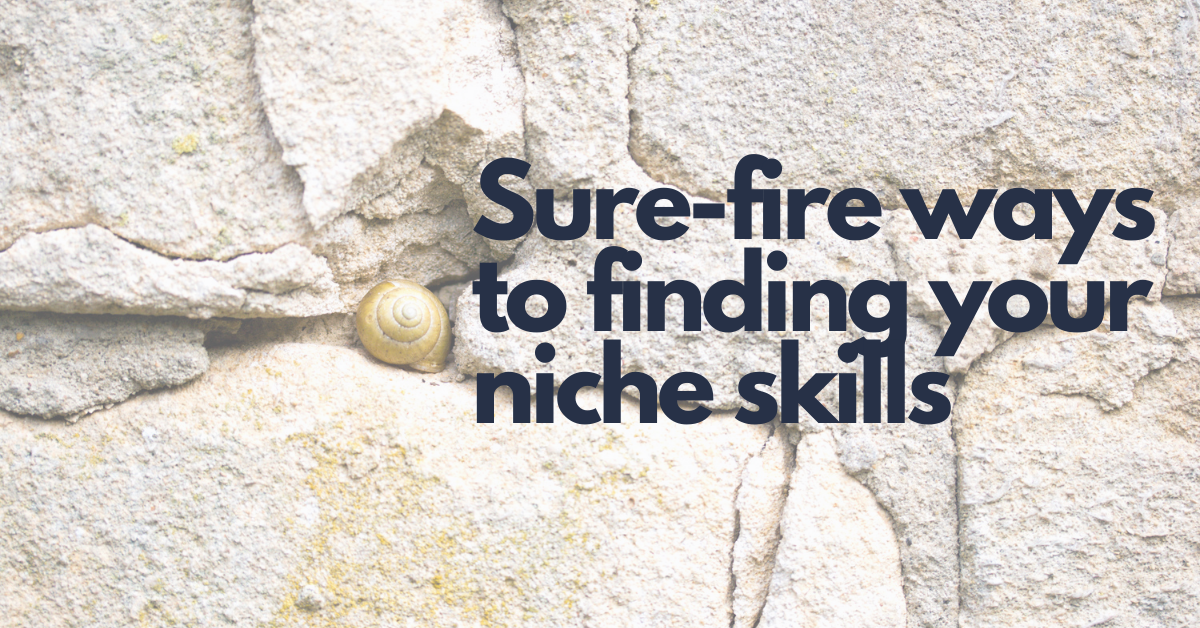 Eight Sure Fire Ways to Finding Your Niche Skills for Freelancing
